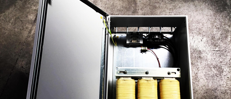 Shunt reactor - de compensatie voor een capacitief netwerk